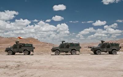 Un convoy en Afghanistan