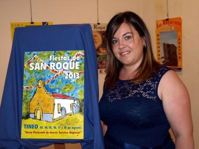 Ana Cachon autora del cartel