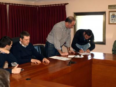 firma de incorporacion de 5 trabajadores al plan de empleo