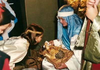 Adoración del Niño en el 2000