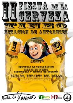 Cartel de la II Fiesta de la Cerveza
