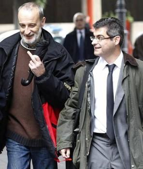 El condenado y su abogado