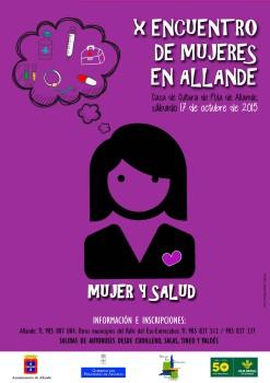 X Encuento Allande_Mujer y Salud