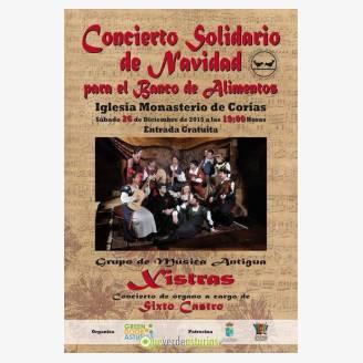 concierto solidario sabado