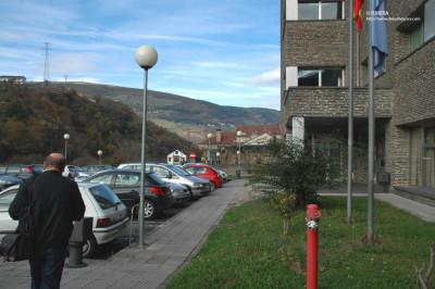 Hospital de Cangas del Narcea (Asturias). R. Mera