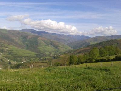 Mera.- Valle del Luiña