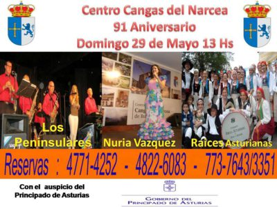 centro asturiano de Cangas del Narcea en Buenos Aires