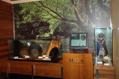 Una vista del MOA