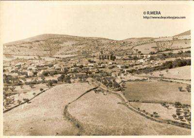 R. MERA.- Berzocana a finales de los 70
