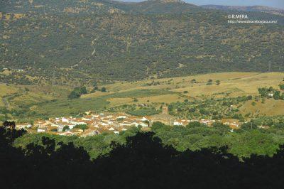 Mera.- Una vista de Berzocana