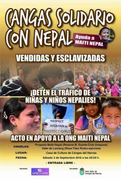 Cangas cpn el Nepal