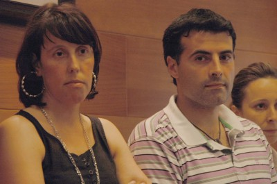 MERA.-Mónica Díaz con Fontaniella