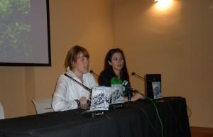 Mónica Díaz y Ana Llano