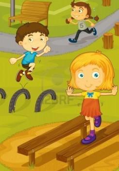 13131876-ilustracion-de-los-ninos-jugando-en-el-patio