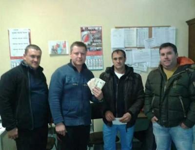 Los mineros en huelga de Cerredo reciben 2.500 € de ayuda