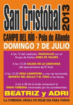 SAN CRISTOBAL - CAMPO DEL RIO