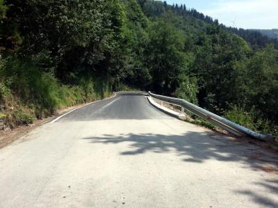 Carretera Santullano a Piedratecha