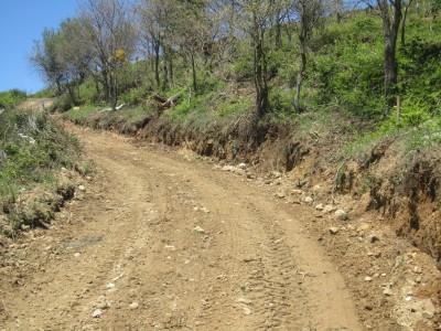 Accesos al monte zona desde Santullano