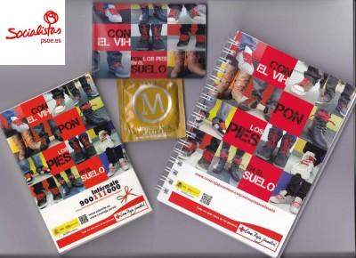 Campaña SIDA 1 diciembre materiales