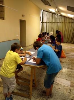 participantes en talleres urbanos de este verano