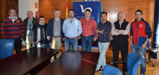 Francisco Martínez;Teimil; Benjamín; Javier Fernández;José Manuel García; Jesús M. Sierra; Jesús Rolo; Roberto González; Alejandro Fernández