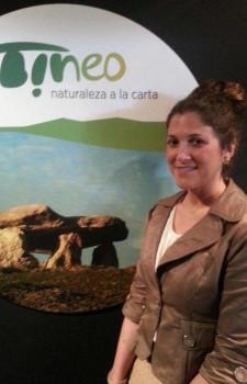 Pepe R..-Eva López junto al nuevo Logo
