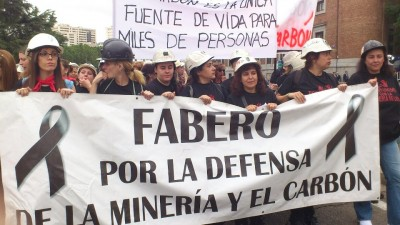Protestas en Fabero