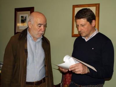 Director general con alcalde