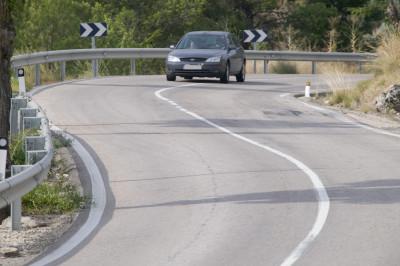 Peligros en carreteras convencionales