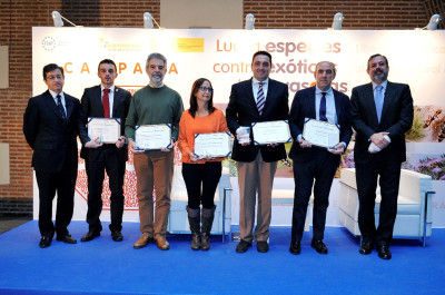 Concejal Medio Amb 2º izda en entrega Premios BIO.JPG