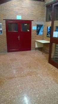 Lluvia en los pasillos