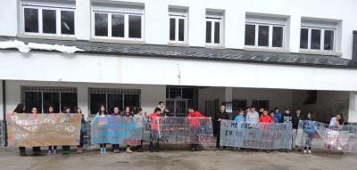 Una protesta en Cerredo