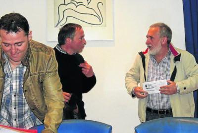López y Areces discuten