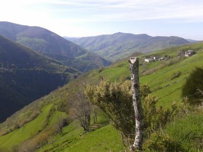 Brañas Abajo y valle Naviego