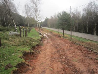 Obras en el camino