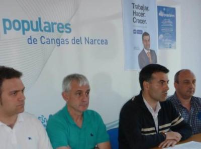 Concejales del PP. Demelsa