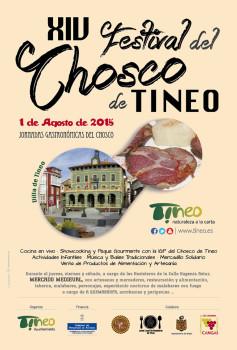 Cartel Festival del Chosco 2015