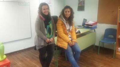 Silvia y Marta,las última maestras