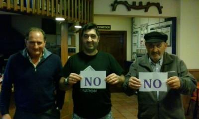 En el Bar la Casera dicen NO