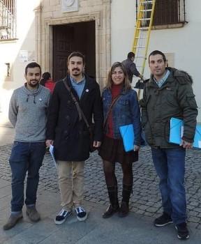 Rico,Ron, Vélez y Pérez en Cangas