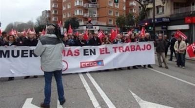 Agencias. Concentración en Oviedo