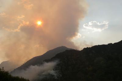 MERA.-Incendios en Fuentes del Narcea