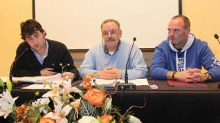 Mario Vázquez, Juan Fernández y Manuel Rodríguez