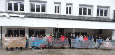 Protesta contra el cierre