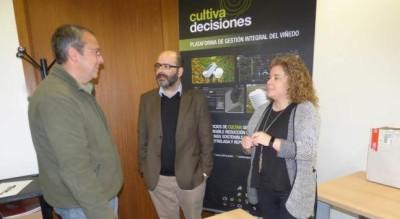 Juan Manuel Redondo, Miguel Fuentes y Cristina Monteserín,