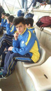 David Rodríguez, del Club Atletismo Narcea