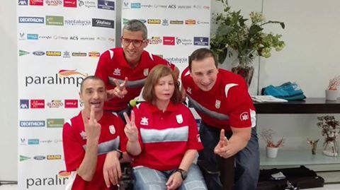 TINEO.- David Fernández a los juegos paralímpicos de Río 2016