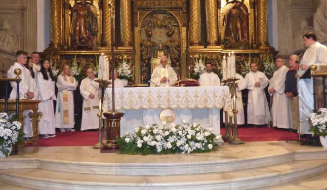 CANGAS DEL NARCEA.- Homenaje a Don Jesús.