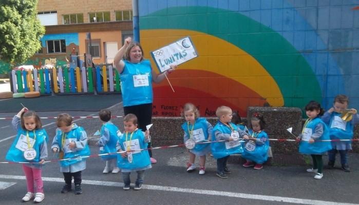 CANGAS DEL NARCEA.- Olimpiadas infantiles viales de medalla olímpica