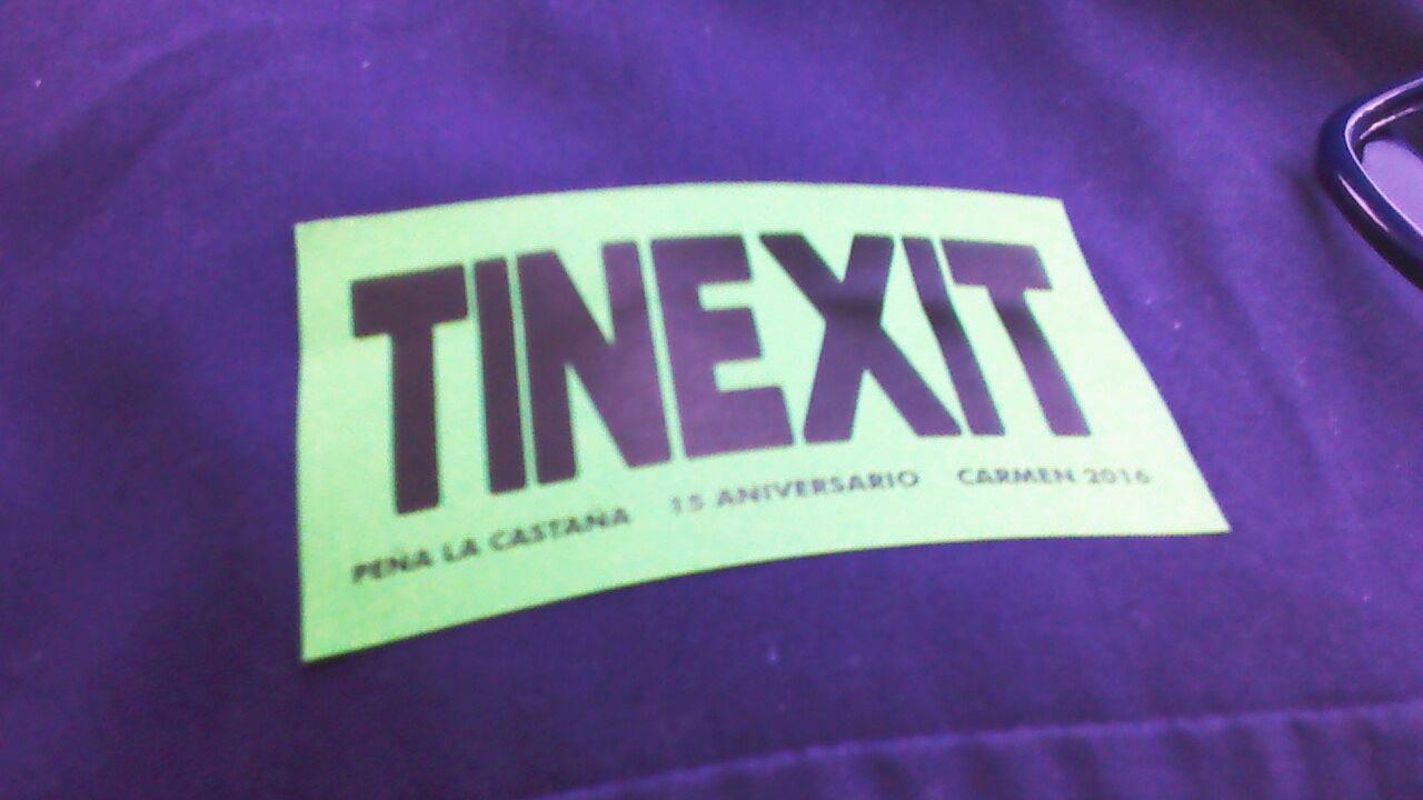 """CANGAS DEL NARCEA.- La foto y su pie: """"TINEXIT"""""""